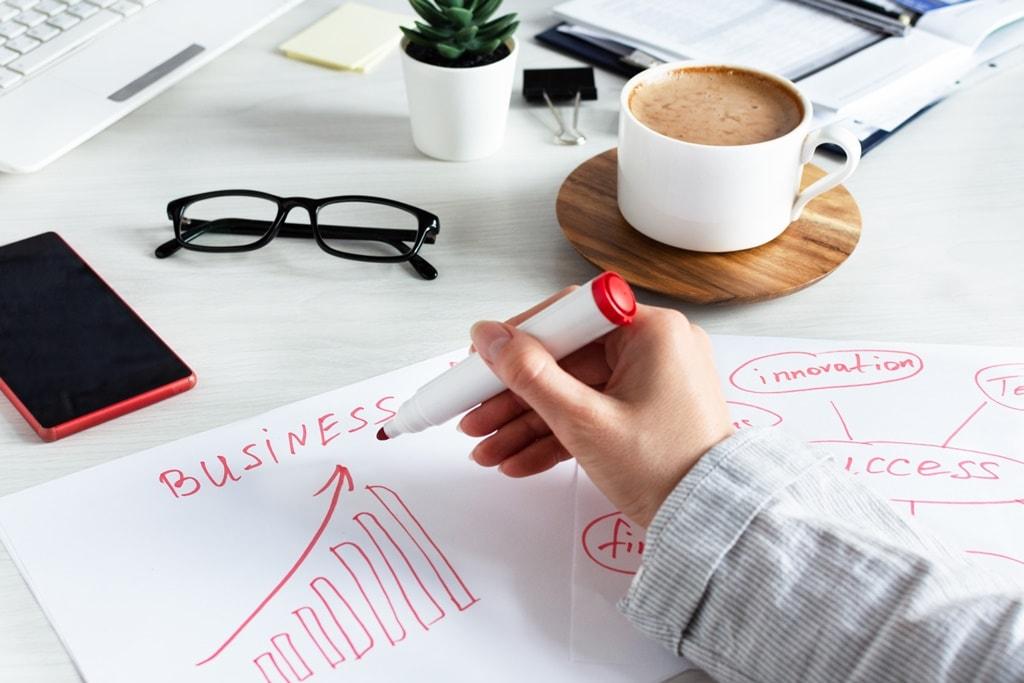 biznesowy cel, kobieta biznesu, biznewoman, sumarowska