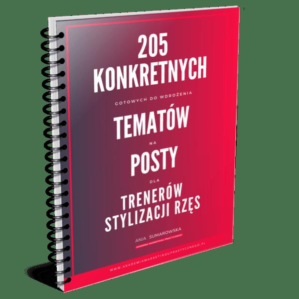 205 konkretnych tematów na posty dla trenerek stylizacji rzęs